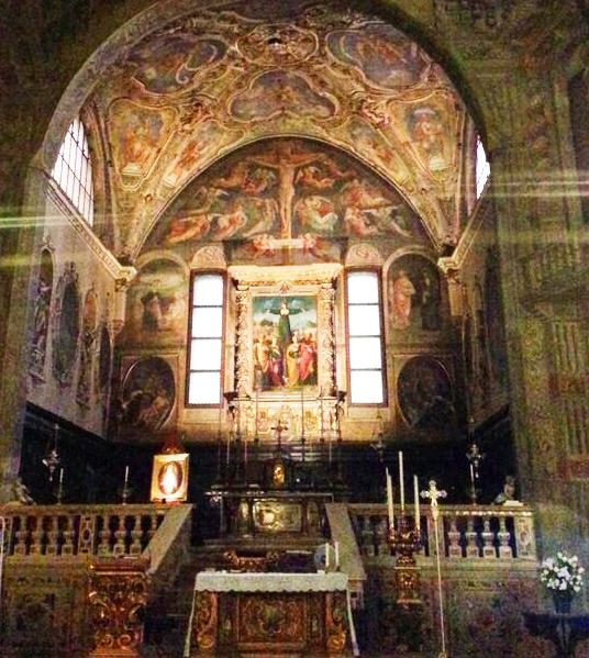 """Sant'Agata e la """"doppia crocifissione"""""""