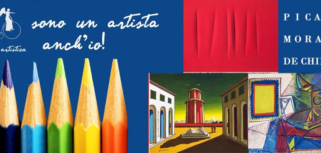 GUIDA ARTISTICA JUNIOR – PICASSO, MORANDI, DE CHIRICO… SONO UN ARTISTA ANCHE IO!